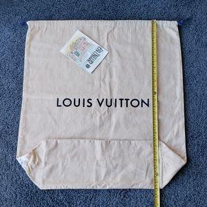 Louis Vuitton Drawstring Dust Bag, HUGE, XX LARGE